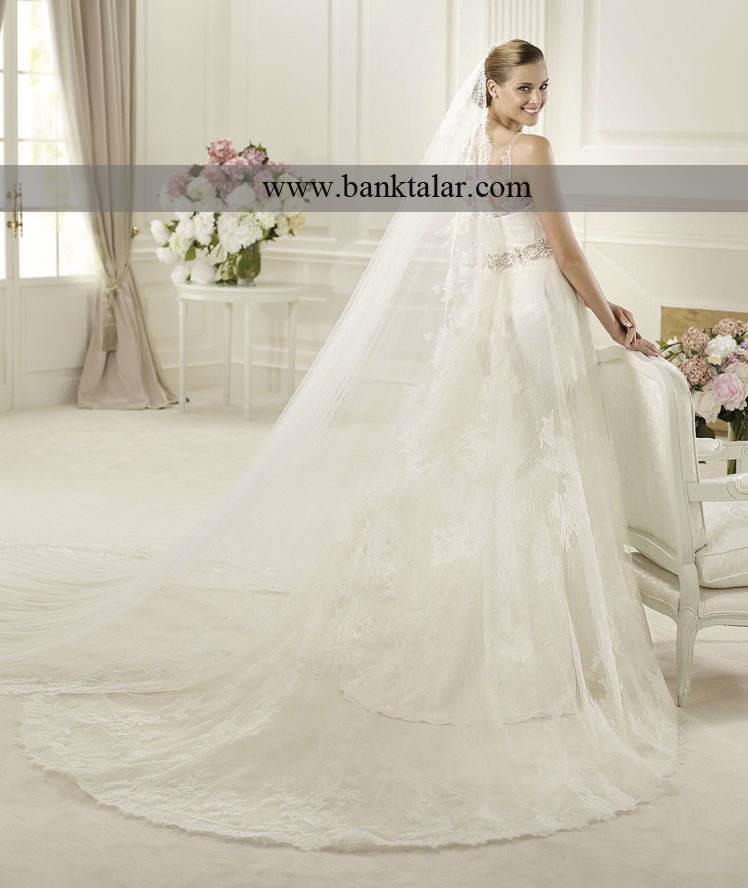خاص و زیباترین لباس عروس های دانتل **banktalar.com