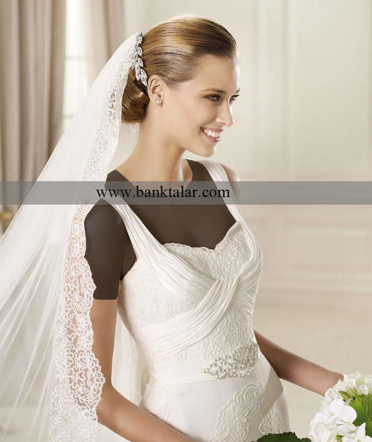تور سر عروسی خود را چگونه انتخاب کنید تا باشکوه تر به نظر آیید؟سری دوم**banktalar.com