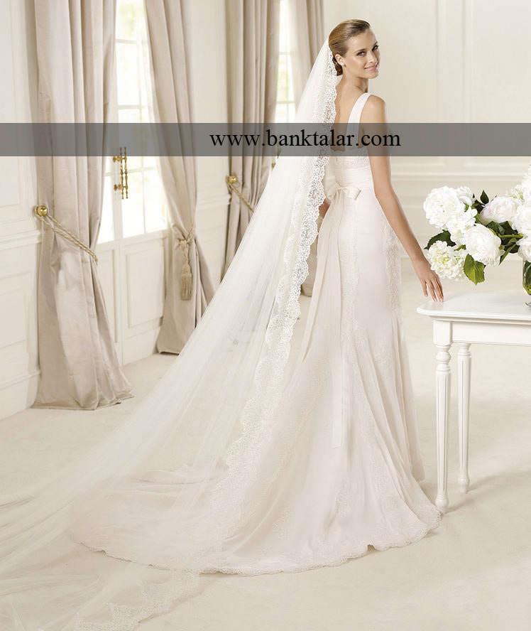 لباس عروس مدل ماهی 2013 **banktalar.com