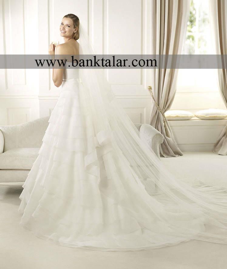 لباس عروس با دامن های پرنسسی بسیار شیک و زیبا**banktalar.com