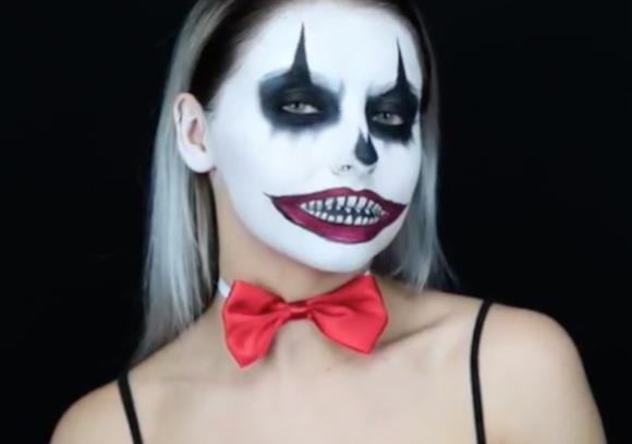 آموزش گریم هالووین ساده و باحال 2018