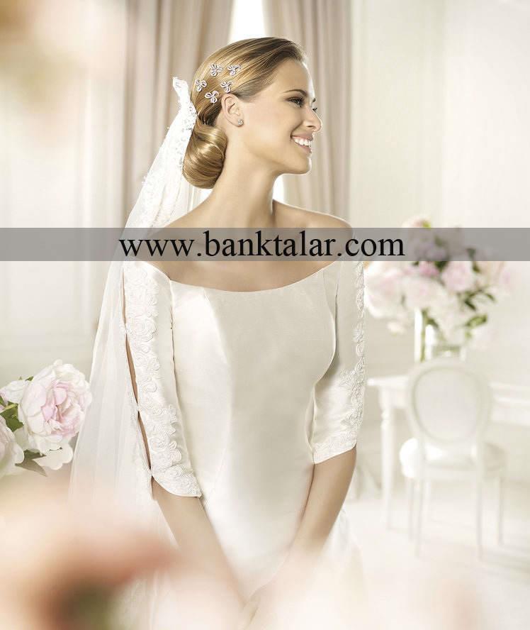 مدلهای اروپایی و ساده لباس عروس و نامزدی 2013**banktalar.com