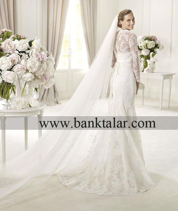 لباس عروس های دانتل 2014**banktalar.com