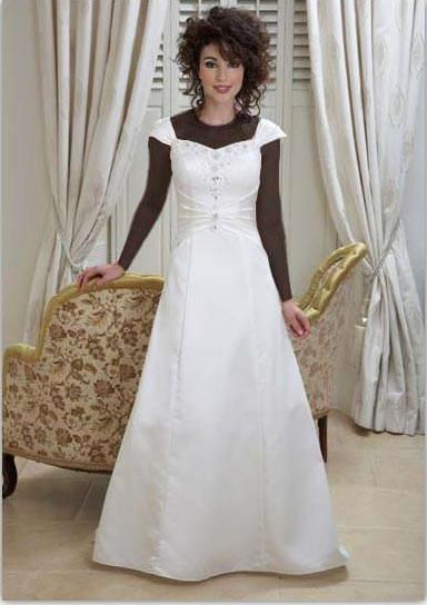 انتخاب لباس عروس خوب و متناسب با اندام بدنتان