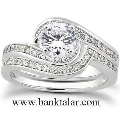 جدیدترین مدل حلقه، انگشتر نامزدی عروسی و ازدواج 2013**banktalar.com
