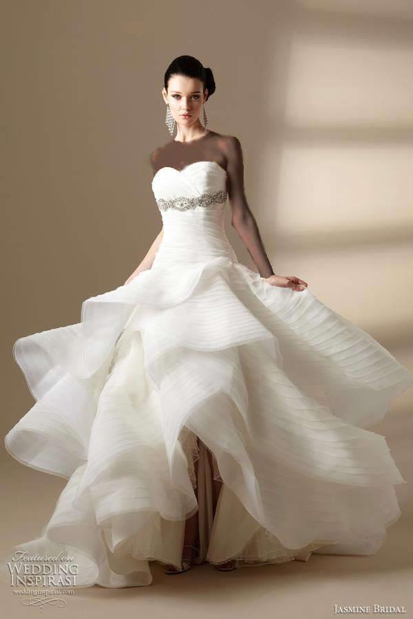 مدل لباس عروسی تک، خاص 2012 (2)