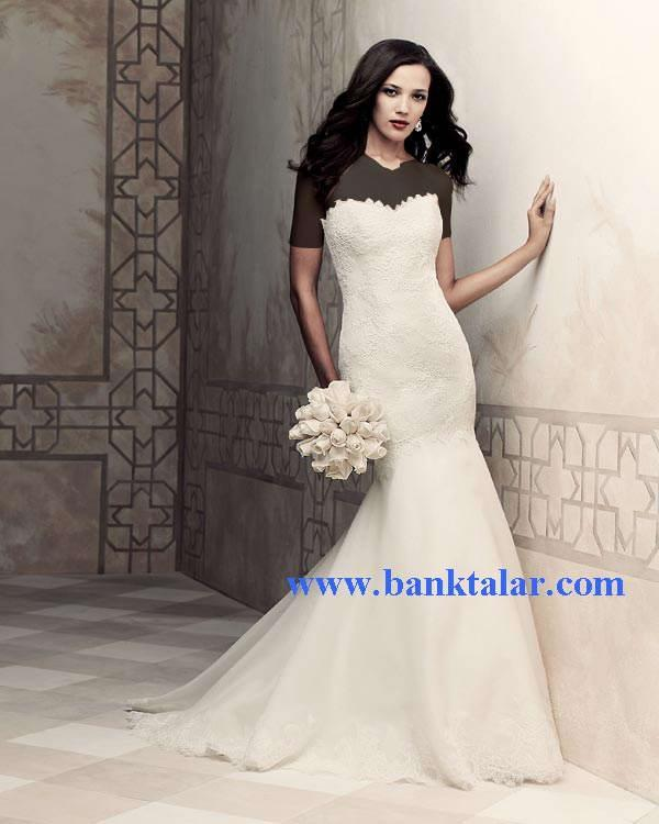 لباس های عروسی تک و ویژه 2013 **banktalar.com