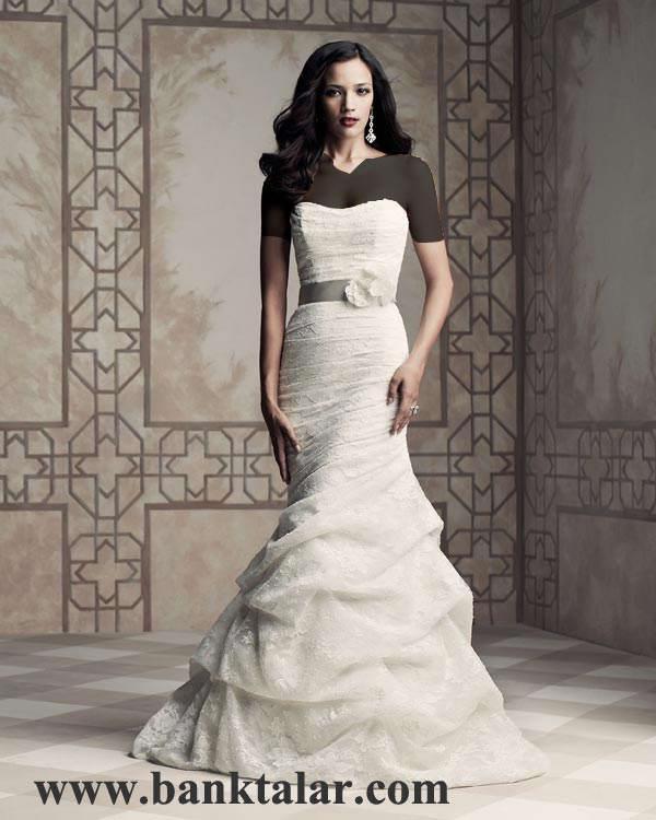 مدل لباس های عروسی تک و ویژه 2013 **banktalar.com