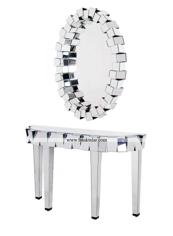 آینه و شمعدان های مدرن و زیبا