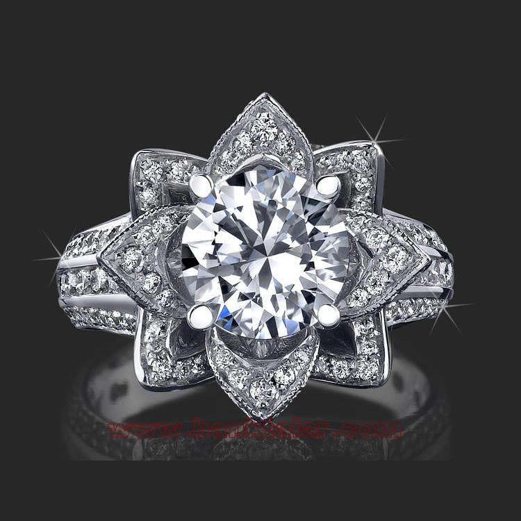 مدل های حلقه عروسی بسیار مجلل و با شکوه **banktalar.com