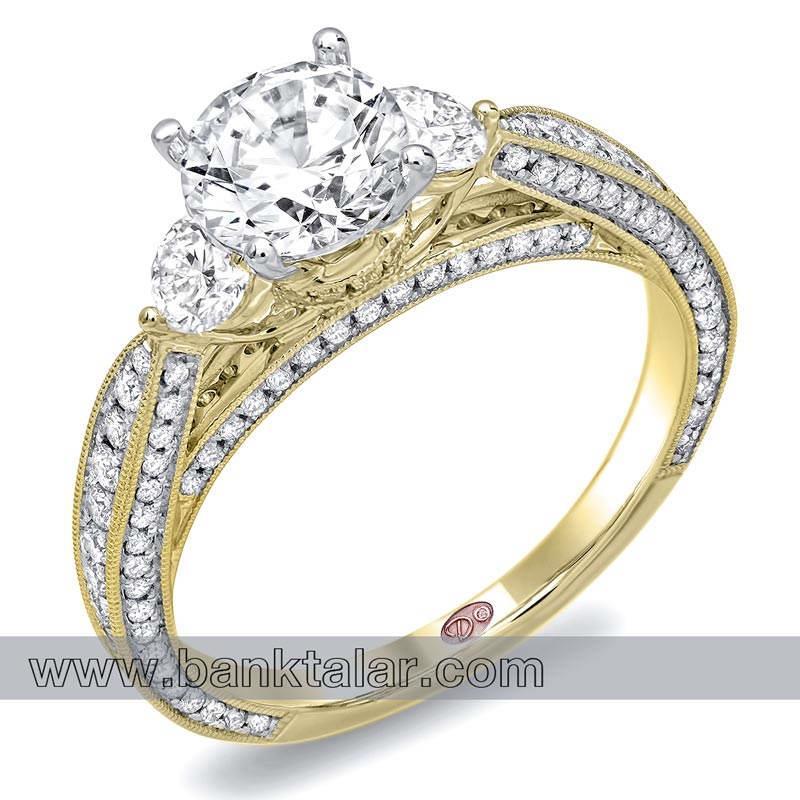 مدل حلقه ازدواج بسیار شیک و مجلل 2014**banktalar.com