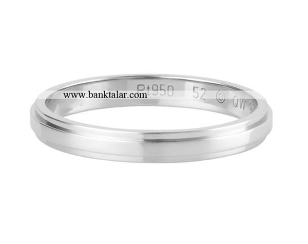 مدل رینگ عروسی ساده و زیبا مردانه**banktalar.com