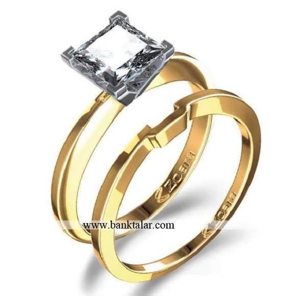 حلقه های ست عروس و داماد جدید**banktalar.com