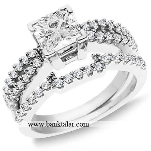 جدیدترین حلقه های ست ازدواج**banktalar.com
