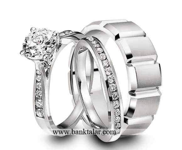 مدل های حلقه ازدواج ساده و شیک**banktalar.com