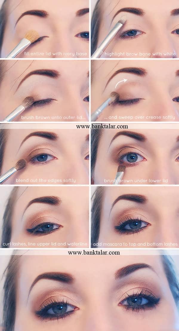 آموزش آرایش چشم تصویری **banktalar.com