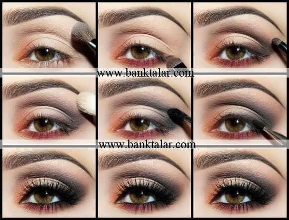 آموزش آرایش چشم هالیوودی به همراه مراحل**banktalar.com