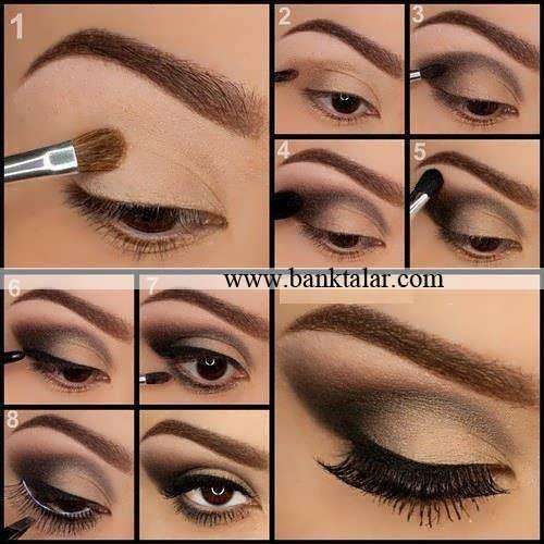 جدیدترین مدل آرایش چشم بهمراه مراحل کار**banktalar.com