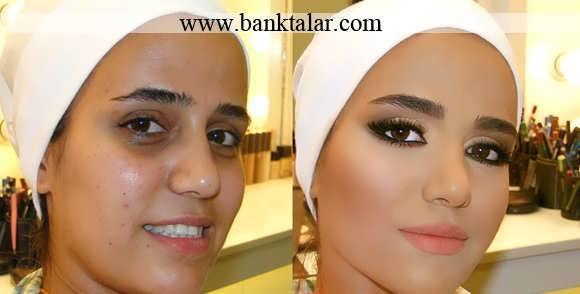 آموزش تصویری آرایش و گریم حرفه ای عروس بصورت گام به گام**banktalar.com