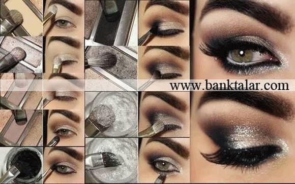 آموزش مرحله به مرحله آرایش چشم