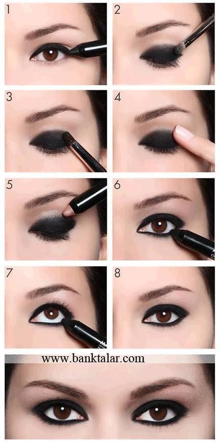 آموزش آرایش چشم جدید و زیبا**banktalar.com