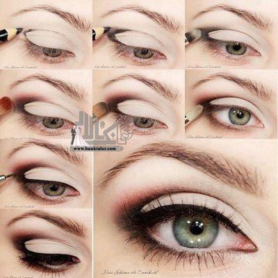 مدل های آموزش آرایش چشم جدید و حرفه ای