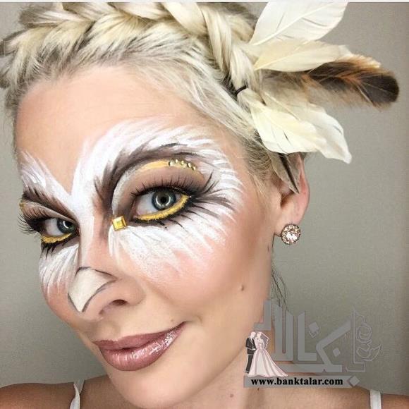 مدل های گریم هالووین 2018 بسیار جالب