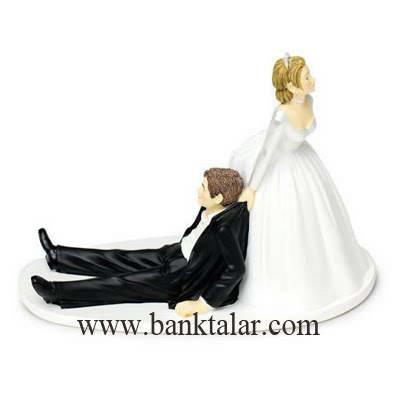 مجسمه های تزئین کیک عروسی و نامزدی بسیار زیبا و جالب**banktalar.com