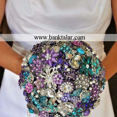 جدیدترین مدل دسته گل عروس 2013 (2) ** banktalar.com