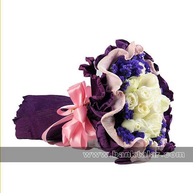 دسته گل های زیبا مخصوص نامزدی و عروسی**banktalar.com