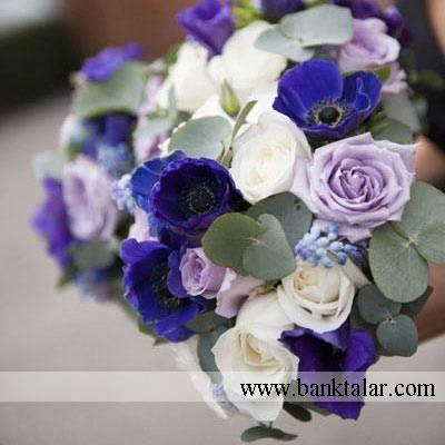 دسته گل عروسی و نامزدی زیبا**banktalar.com