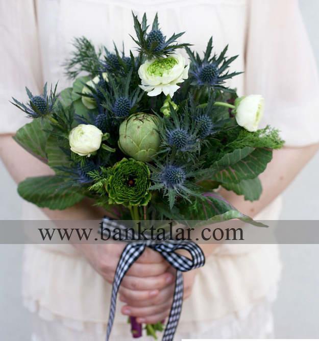 مدل های دسته گل عروس خاص و تک - سری اول**banktalar.com