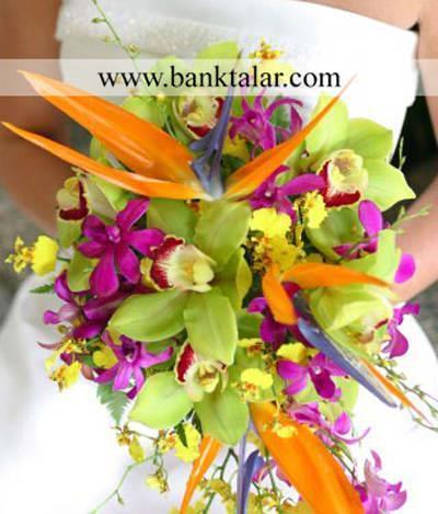 جدیدترین  مدل های خاص دسته گل عروسی و نامزدی**banktalar.com