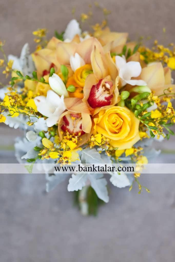 مدل های دسته گل عروسی و نامزدی پاییزه بسیار زیبا **banktalar.com