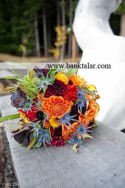 مدل دسته گل پاییزی 2014**banktalar.com
