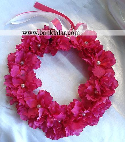 مدل های حلقه گل سر ساده و شیک**banktalar.com