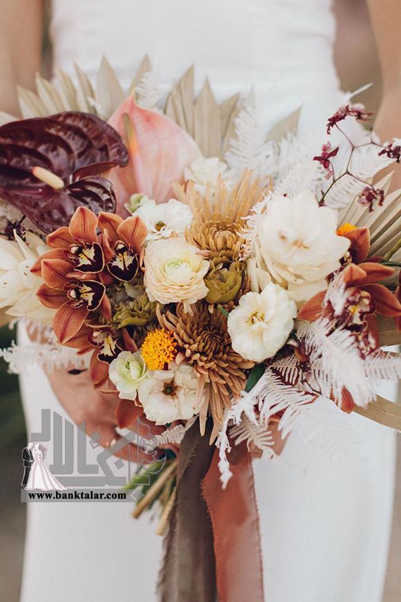 ایده دسته گل پاییزی خاص و زیبا