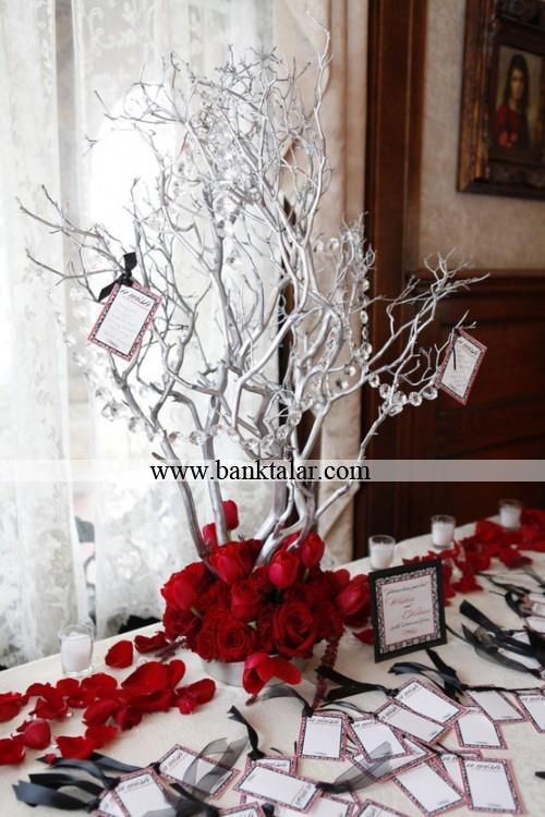 تزئینات کریسمسی میز شام 2015**banktalar.com