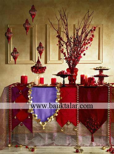 تزئینات کریسمسی میز شام 2015- قسمت دوم**banktalar.com