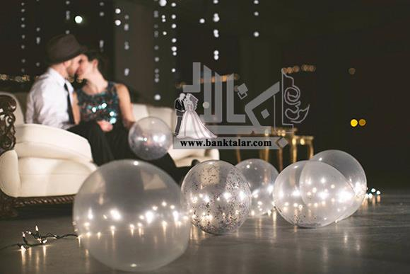 ایده عروسی خاص تر با بادکنک