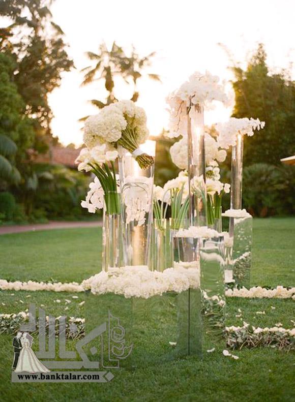 33 ایده عروسی خاص و شیک با آینه