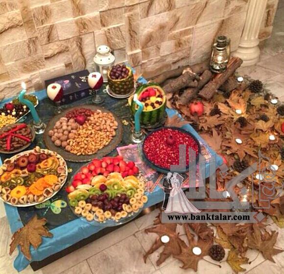 تزیین شب یلدا عروس ۹۷