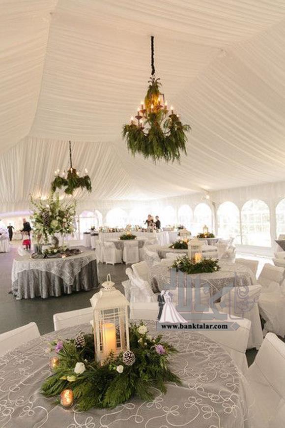 ایده های جدید و جالب برای عروسی در زمستان