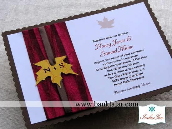 ایده های خاص عروسی و نامزدی در پائیز**banktalar.com