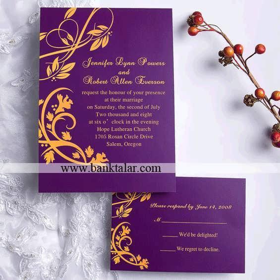 مدل های کارت دعوت عروسی جدید
