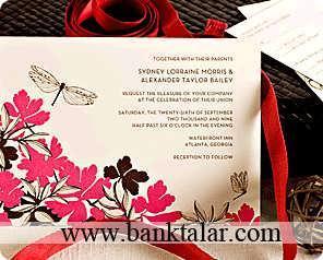 کارت دعوت عروسی جدید و زیبا**banktalar.com