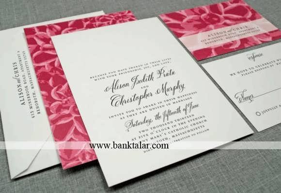 مدل کارت عروسی و عقد 2014**banktalar.com