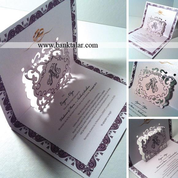 کارت دعوت عروسی با طرح های خاص 2015