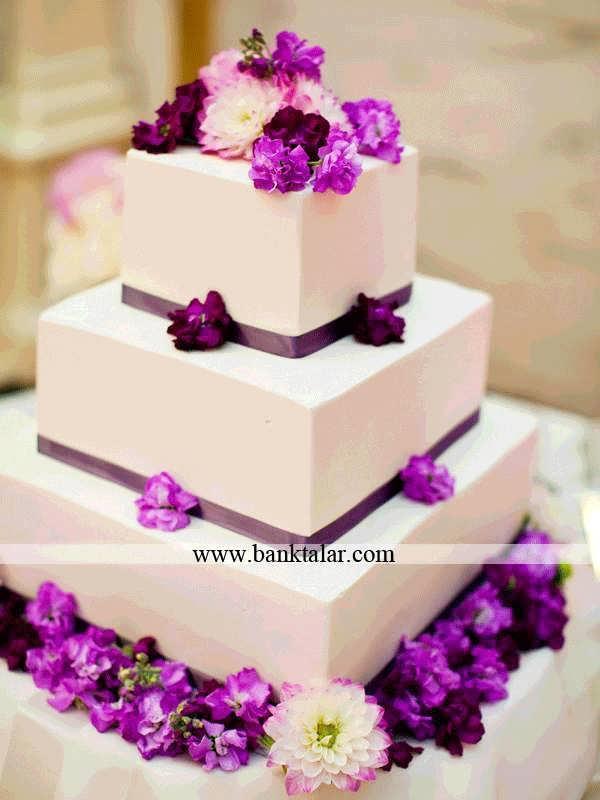 طرح های شیک و زیبا کیک عقد و عروسی،**banktalar.com
