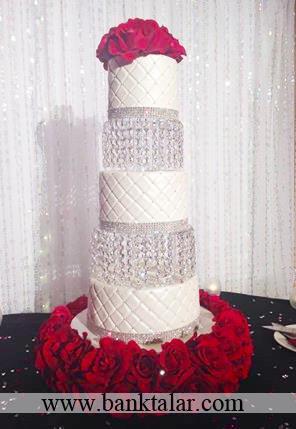 کیک عقد و عروسی مجلل**banktalar.com